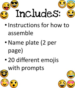 Emoji Intro - Get to Know You Project
