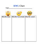 Emoji KWL Chart