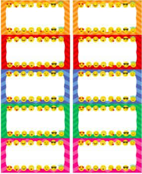 Emoji Labels: Chevron