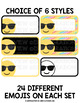 Emoji Labels - Editable