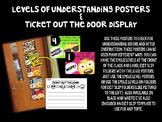 Emoji Levels of Understanding Posters