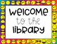 Emoji Library Poster Set (Rainbow Background)