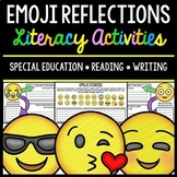 Emoji Literacy Activities - Special Education - Reading - Writing - Autism