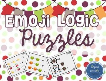 Emoji Logic Puzzles (Algebraic Reasoning in Disguise!)