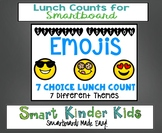 Emoji Lunch Count Bundle for Smartboard - Special Edition