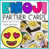 Emoji Match Memory or Partner Cards