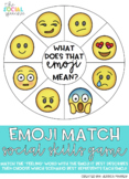 Emoji Match Social Skills Activity for Carry-Over