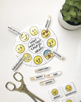 Emoji Match Social Skills Activity
