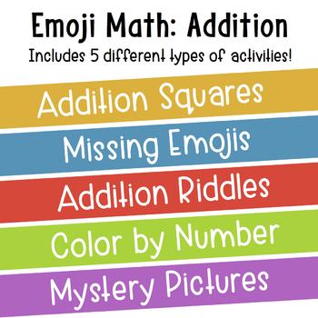 Emoji Math: Addition