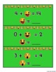 Emoji Math Addition and Subtraction Task Cards