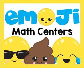 Emoji Math Centers