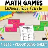 Emoji Math Division Task Cards