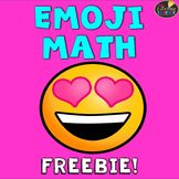 Emoji Math Freebie