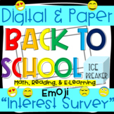 Emoji Math Interest Survey