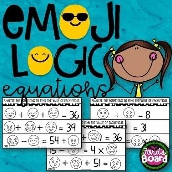 Emoji Math Logic Bundle