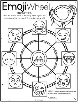 Emoji Math Logic Games