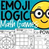 Emoji Math Logic Games | No Prep Math Games