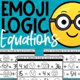 Emoji Math Logic Puzzles | Equations