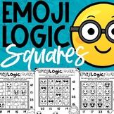 Emoji Math Logic Puzzles   Squares