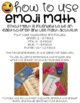 Emoji Math Multiplication Task Cards