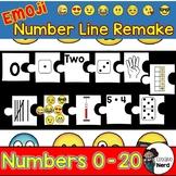 Emoji Math Stations: Number Line Remake