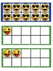 Emoji Math Ten Frames Preview