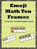 Emoji Math Ten Frames Preview