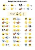 Emoji Math Worksheet - Addition up to 20