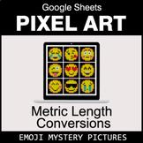 Emoji: Metric Length Conversions - Google Sheets Pixel Art