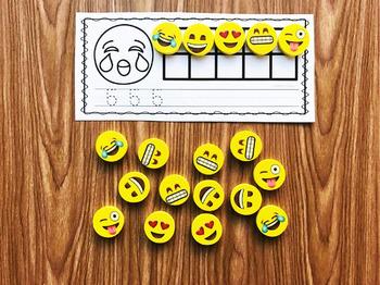 Emoji Mini Eraser Activities