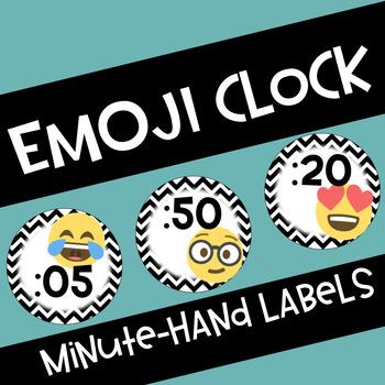 Emoji Minute-Hand Clock Labels