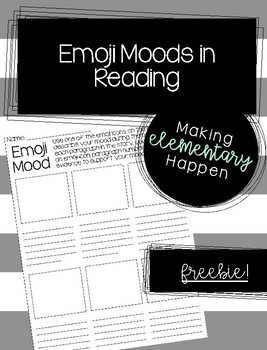 Emoji Mood - Freebie!