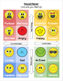 Emoji Mood Meter - Social-Emotional Learning & Classroom Management