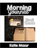Emoji Morning Journal Labels