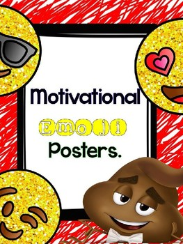 Emoji Motivational Posters