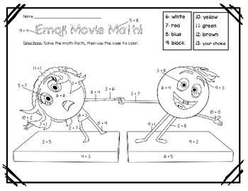 Emoji Movie Math