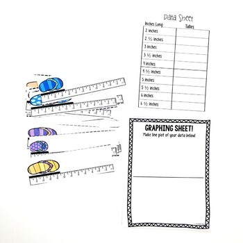 Line Plots with Fractions Summer Game