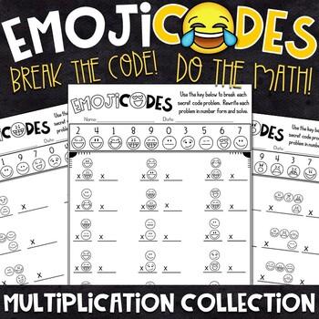 Emoji Fun Multiplication Practice