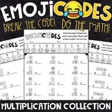 Multiplication Practice   Break the Emoji Code