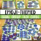 Emoji Multiplication Strategies Task Card Bundle