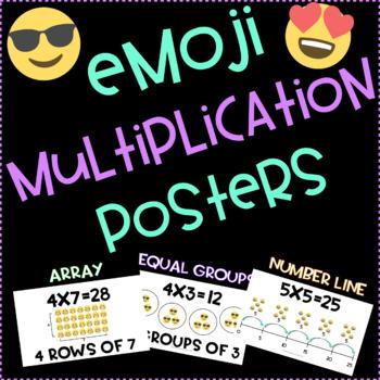 Emoji Multiplication Strategy Posters