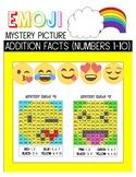 Emoji Mystery Picture- Addition 1-10