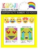 Emoji Mystery Picture- Addition 100-1000