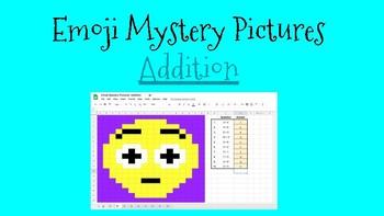 Emoji Mystery Picture- Addition