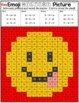 Emoji Subtraction Mystery Pictures - 2 and 3 Digit Numbers