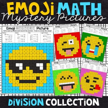 Emoji Division Mystery Pictures