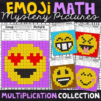 Mystery Multiplication Picture Worksheets & Teaching