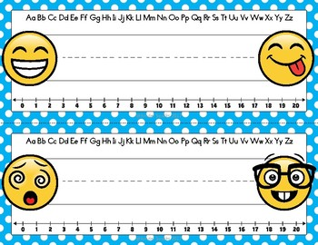 Emoji Name Tags Printable