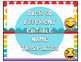 Emoji Classroom Decor: Name Tags and Bonus Set