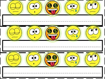 Emoji  Nameplates